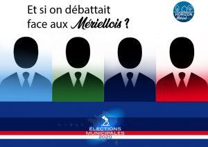 [Débat] Mériel Horizon appelle tous les candidats à un débat public face aux mériellois