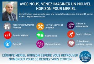 [Programme] Consultation citoyenne, certains en parlent, Mériel Horizon le fait !